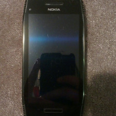 Vand NOKIA X7! Original - Telefon Nokia, Argintiu, 8GB, Neblocat, Dual core, 256 MB