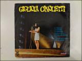 Disc vinil vinyl pick-up MEDIU Electrecord GIGLIOLA CINQUETTI  1969 LPEDD 1234 rar vechi colectie