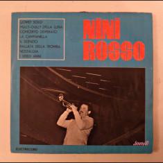Disc vinil vinyl pick-up MEDIU Electrecord NINI ROSSO 1967 LP EDD 1184 rar vechi colectie