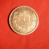 Moneda 1 Kor. 1916 Ungaria Fr.Josef, Ungaria, cal.apr.NC, Europa