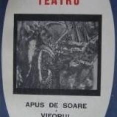 Barbu Delavrancea -Teatru (Apus de soare, Viforul, Luceafarul, Hagi - Tudose) - Carte de aventura