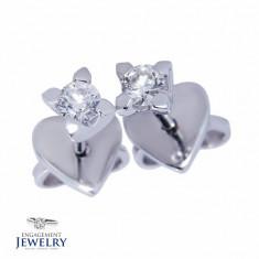 Cercei cu diamante PAL-CEE-009