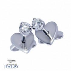 Cercei cu diamante PAL-CEE-008