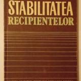 Stabilitatea recipientelor, Alta editura