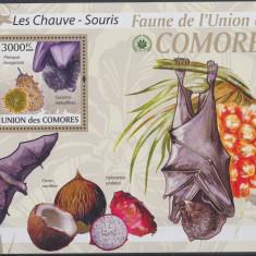 COMORE 2009 FAUNA,LILIECI,FRUCTE.CATALOG MICHEL BK 532