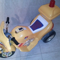 Motocicleta Electrica copii 3-7 ani, 4-6 ani, Unisex, Multicolor