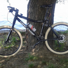 Cannondale Scalpel - Mountain Bike Cannondale, 19 inch, 26 inch, Aluminiu, Negru, MTB Full Suspension
