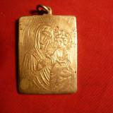 Medalion - Iconita bronz -Inst. Bibl.al BOR