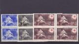 Crucea rosie,bloc de 4,nr lista 151,Romania.