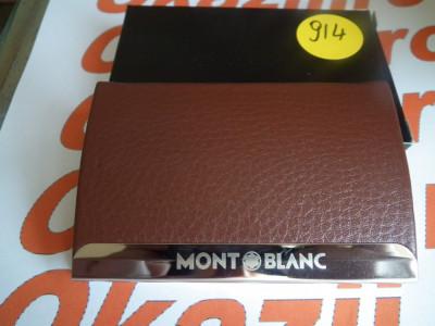 Cutie carduri de vizita Business Card Case MontBlanc cod 914 foto