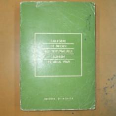 Culegere decizii ale Tribunalului Suprem 1969