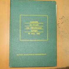 Culegere decizii ale Tribunalului Suprem 1980