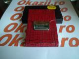 Cutie carduri de vizita Business Card Case MontBlanc cod 902, Maro, Port card