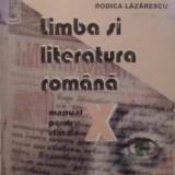 Marin Iancu - Limba si literatura romana- manual pentru clasa a X-a - Carte de aventura