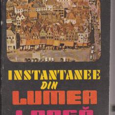 (E208) - TUDOR DRAGANU - INSTANTANEE DIN LUMEA LARGA - Roman, Anul publicarii: 1986