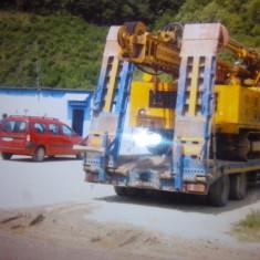 Foreza rotopercutanta - Camion