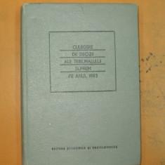Culegere decizii ale Tribunalului Suprem 1983