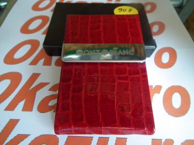 Cutie carduri de vizita Business Card Case MontBlanc cod 908 foto
