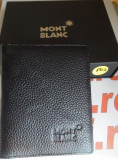 Portofel MontBlanc din piele model nou cod 804, Negru