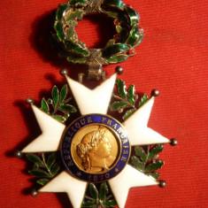 Decoratia Legiunea de Onoare - de Lux -Franta