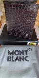 Portofel MontBlanc din piele model nou cod 802, Negru