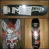 """Skateboard Hot Wheels """"Flying Skull"""" - NOU SIGILAT, Nespecificat"""