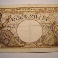 2000 lei 1941 - Bancnota romaneasca