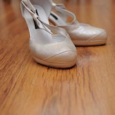 PANTOFI MIREASA KALONI - Pantof dama, Marime: 37