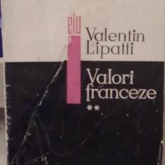 Valentin Lipatti - Valori Franceze (Vol.2) - Carte de aventura