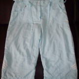 Pantaloni ¾ Adidas CLIMALITE; marime 42: 84 cm talie, 67 cm lungime; ca noi