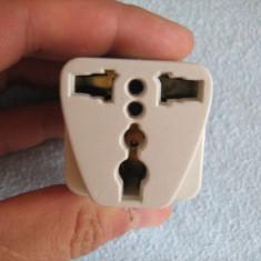ADAPTOR pentru stecker model SUA sau Anglia