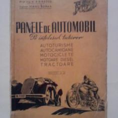 Panele de automobil - Nic. Constantinescu, D. Donescu, Virgil Coman   *1949 Editia a II-a