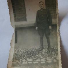 FOTOGRAFIE CU OFITER DIN ANII 30 - Fotografie veche