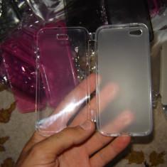 20. Huse protectie iPhone 5 din silicon fata si spate, cea mai buna protectie pentru iPhone 5 + folie cadou - Husa Telefon Accessorize, iPhone 5/5S/SE