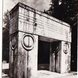 RPR, CP circulata 1968.Targu Jiu, Poarta Sarutului, Constantin Brancusi