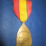 WW1- Medalie comemorativa in bronz- Franta 1914- 1918 - Ordin/ Decoratie