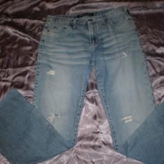 Blugi dama Versace Jeans Couture, 100% originali, Marime: 29, Culoare: Albastru, Lungi, Joasa