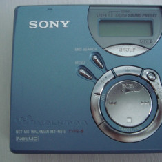 Minidisc SONY-MZ-N 510 type S, walkman NET MD - CD player