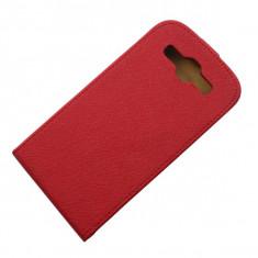 Husa Samsung Galaxy S3 i9300 i9305 i9301 Neo + folie + stylus - Husa Telefon Samsung, Rosu, Piele Ecologica, Cu clapeta