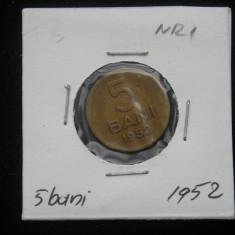 CMR1 - 5 BANI 1952 - Moneda Romania
