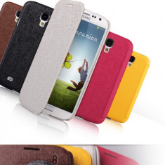 Husa Slim Samsung Galaxy S4 i9500 by Yoobao Originala Coffee - Husa Telefon Yoobao, Plastic, Carcasa