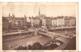 CPI (B2585) AUSTRIA. WIEN, VIENA. SCHWDENPLATZ, EDITURA P. LEDERMANN, CIRCULATA 1929, STAMPILE, TIMBRU, Europa, Printata