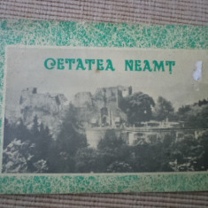 Cetatea neamt carte brosura ilustrata foto istorie stiinta - Carte Istorie