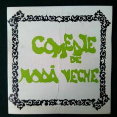"""Program teatru , TEATRUL NATIONAL TIMISOARA """" COMEDIE DE MODA VECHE """" - STAGIUNEA 1978-1979"""