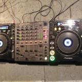 2x Pioneer cdj 1000 mk3 + 1x djm 600