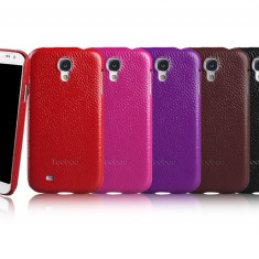Husa Executive Piele Naturala Samsung Galaxy S4 i9500 by Yoobao Originala Red - Husa Telefon