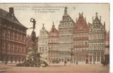 CPI (B2581) BELGIA. ANVERS. CASA CORPORATIILOR SI FANTANA BRABO, CIRCULATA, 1925, STAMPILE, Europa, Printata