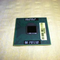Procesor laptop intel T4200 dual core 2.00/1m/800 socket P, Intel Pentium Dual Core, 1500- 2000 MHz, Numar nuclee: 2, P