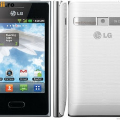 Lg necodat nota 9 cu certificat de garantie - Telefon LG, Alb, Neblocat, Single core, 384 MB, 3.2''