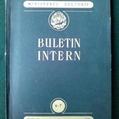 Buletin intern -1955